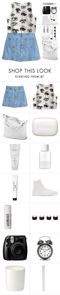 """""""*cry baby*"""" by my-black-wings ❤ liked on Polyvore featuring Chicnova Fashion, chissene, Sisley Paris, SUQQU, Bobbi Brown Cosmetics, Jil Sander, L:A Bruket, Maison Margiela, The White Company and Supersmile"""