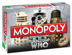 Doctor Who Monopoly :: ThinkGeek