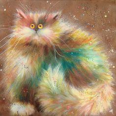 Cat illustration by Kim Haskins Online Shop. Kim Haskins News ♥༺❤༻♥