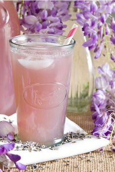 Lavender Lemonade -- I can make this now!