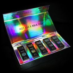 Inspired by her love of all things holo, Cristine (a. Simply Nailogical) decided to launch Holo Taco to bring holographic nail polish to the masses. Do you have boring nails? Add a holo taco and it's not a problem anymore. Holographic Top, Holographic Nail Polish, Holo Nail Polish, Royal Tea, Nail Effects, Under The Lights, Artificial Nails, You Nailed It, Product Launch