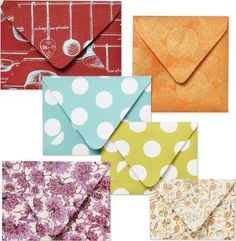 paper source envelope template kit