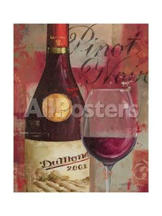 Vin Abstrait I Giclée-Premiumdruck von Lisa Audit bei AllPosters.de