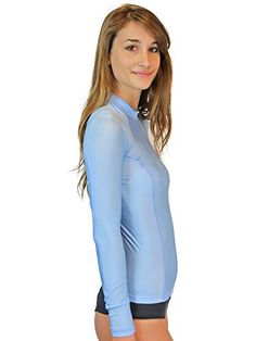 Compression Shirt Women - MADE IN USA - ON SALE TODAY - LIFETIME GUARANTEE - Goddess Rash Guards Are The Ultimate Base Layer, Athletic, Compression Shirt. Perfect for Workouts, Crossfit, Swimming, Surfing, Biking and Even Running. Some Goddess's Use Them As Swimsuit or Bathing Suit Coverups As Well As A Swim Shirt. Great For Sun Protection at the Beach, Lake or Wherever You Decide to Be Working out or Relaxing in the Sun. http://www.amazon.com/dp/B00PBBT9O6/ref=cm_sw_r_pi_awdm_n0oEub1QPD31B