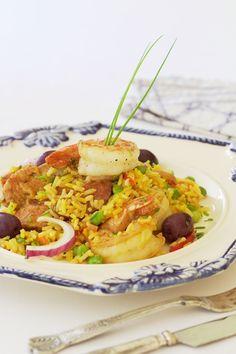 Arroz de Braga. Na versão especial para a Páscoa, o chef dijalma acrescenta o camarão rosa, e brinca com sabores da cozinha brasileira e portuguesa.