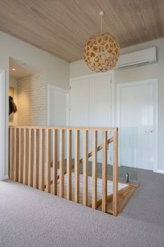 Timber Stair 29 - house and flat decorations Timber Stair, Stair Handrail, Staircase Railings, Timber Deck, Staircase Design, Stairways, Bannister, House Staircase, Loft Stairs