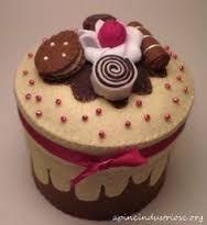 Resultado de imagen para box felt cakes