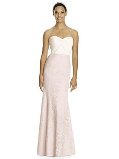 Studio Design Collection 4510 Full Length Strapless Sweetheart Neckline Bridesmaid Dress http:
