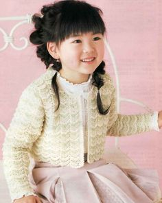 CROCHET KID'S WEAR - JACKET/SWEATER