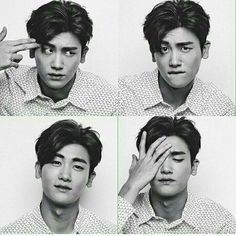 Park Hyung Sik trying out different facial expressions. Park Hyung Sik, Strong Girls, Strong Women, Korean Star, Korean Men, Ahn Min Hyuk, Handsome Korean Actors, Do Bong Soon, Park Bo Gum