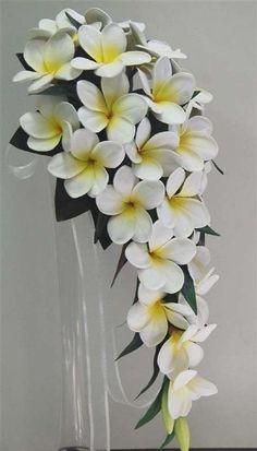 Ramos de novia: fotos diseños con flores hawaianas (11/28) | Ellahoy