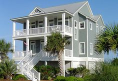 Southern Cottages offers piling house plans at reasonable cost. We provide shingle style house plans, house plans with roof deck, front porch house plans, cottage floor plans and small cottage house plans. Small Cottage House Plans, Coastal House Plans, Small Cottage Homes, Porch House Plans, Cottage Floor Plans, Country House Plans, Southern Cottage, Coastal Cottage, Cottage Porch