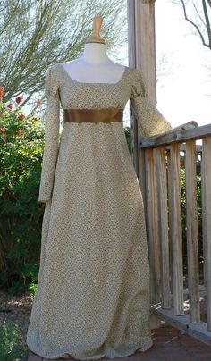 Regency Dress Basic Style - so lovely! <3