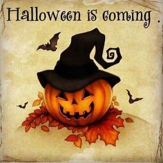 Halloween is coming!!
