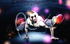 Fonds d'écran Art - Numérique > Fonds d'écran Style Urbain Hip-Hop Darkness par hishi - Hebus.com