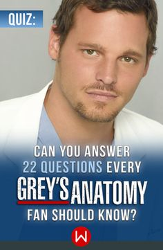 Meredith Grey, Derek, the Chief - they're all here in the quiz of all Grey's Anatomy Fans. Will you pass the test?