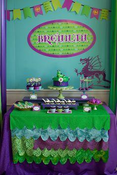 Dragon Birthday Party