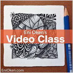 Learn how to create amazing Zentangle:registered: • enioken.com