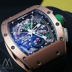 Going into over time with the Richard Mille RM011 Mancini in rose gold!