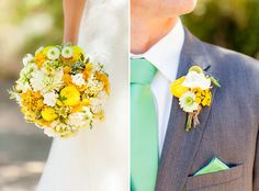 #Seafoam + #Yellow #wedding ... Wedding #ideas for brides, grooms, parents & planners ... https://itunes.apple.com/us/app/the-gold-wedding-planner/id498112599?ls=1=8 … plus how to organise an entire wedding, without overspending ♥ The Gold Wedding Planner iPhone #App ♥ http://pinterest.com/groomsandbrides/boards/  for more #yellow #wedding #inspiration.