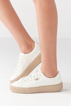 detailing 27229 1266e Puma Basket Platform Patent Sneaker