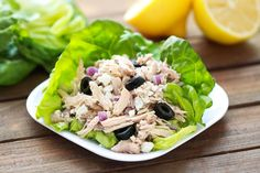 Would be so yummy in a pita Healthy 5-Ingredient Slow-Cooker Recipe: Greek Shredded Chicken