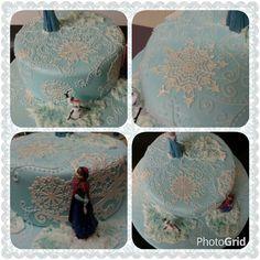 More of the Frozen cake.  www.thepurplewhisk.co.uk