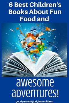 Want to give your child the best reading experience ever?! Here are 6 books that include 48 ideas, lessons, activities, and recipes for learning that never stops! These ideas build family ties, create memory-building fun as you and your kids read, eat and learn your way through children's literature. #booksarefun #kidsbooks #childrensliterature