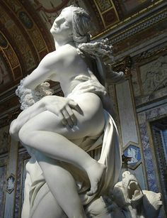 Hades and Persephone statue. Can't wait to take my daughter to see this one day…