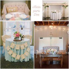 sweetheart table para bodas