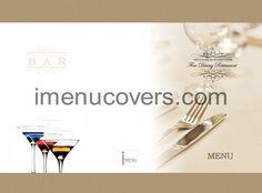 imenucovers.com   custom printed menu covers