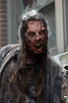 """A look at some the scariest walker images from Season 5 of AMC's """"The Walking Dead."""""""
