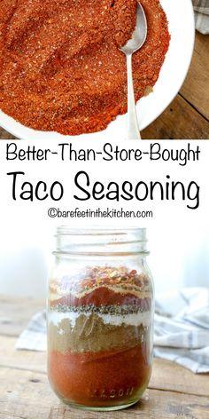 Taco Seasoning Easy, Taco Seasoning Packet, Seasoning Mixes, Homemade Spice Blends, Homemade Spices, Homemade Seasonings, Spice Mixes, Taco Spice Mix, Taco Mix