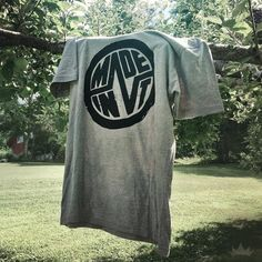 Our first tee product for ESK Apparel, the Made In V-Tee! Get it at ESKapparel.com/vermont-tee [ #clothing #apparel #VT #logo]