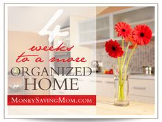 4 Weeks to a More Organized Home {simplified}: Day 17 - Kitchen Cupboards - Update - Homemaking Organized Blog