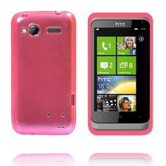 TPU Shell Transparent (Pink) HTC Radar Cover