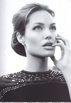 Angelina Jolie... what an elegant woman she turned out to be.