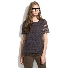 Beautiful lace, $148 from Madewell.  Will have to wait for a sale...
