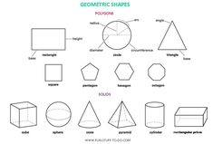 Polygon Shapes Worksheets | 3d shape outlines the outlines of 3 dimensional shapes this