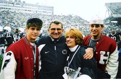 Coach Joe Paterno - A man I respect and admired.  Our family shall never forget you or lessons you taught through all your years of dedication.