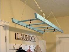#Laundry #room para colgar la ropa