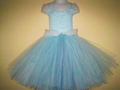 Cinderella Tutu Dress by SimplyForAPrincess on Etsy, $45.00