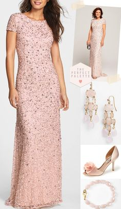 Mother of the Bride Looks She'll Love! www.theperfectpalette.com - Dresses and Accessories!