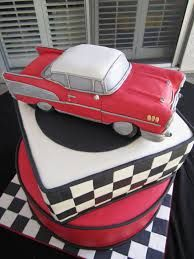 57 chevy cake - Google Search