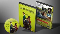 Amizades Improváveis - Capa | VITRINE - Galeria De Capas - Designer Covers Custom | Capas & Labels Customizados