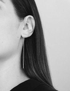 Minimalist Kathleen Whitaker Earrings.