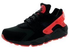 Nike Mens Air Huarache Qs BlackUniversity Red Running Shoe 95 Men US *** More info could be found at the image url.(This is an Amazon affiliate link and I receive a commission for the sales)