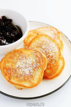 Breakfast Dishes, Breakfast Recipes, Brunch Recipes, Dinner Recipes, Polish Recipes, Good Food, Food And Drink, Cooking Recipes, Tasty
