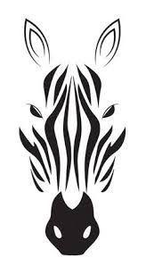 zebra simple drawings malen zeichnung besuchen stencil