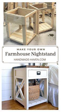 Diy Furniture Table, Diy Furniture Plans Wood Projects, Farmhouse Furniture, Furniture Makeover, Home Projects, Home Furniture, Furniture Storage, Country Furniture, Furniture Ideas